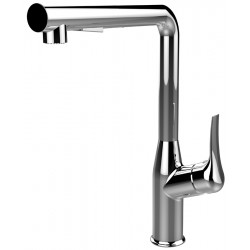 VOGUE Pull Out Wide Sink Mixer Chrome