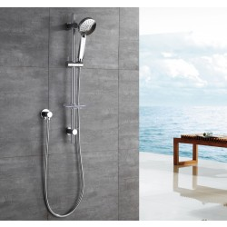 VOGUE 55 SERIES Slide Shower 3 Function Chrome