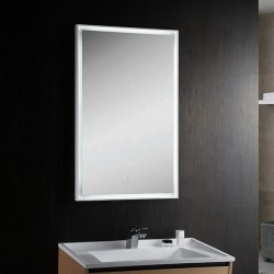 VOGUE LED cool white mirror 600 x 800mm touch sensor switch