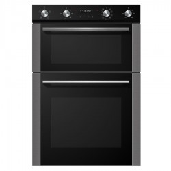 VOGUE Double Wall Oven 13 Function 600mm Stainless Steel