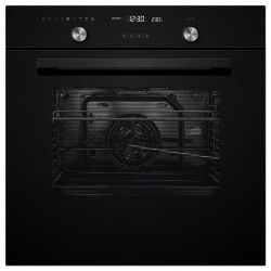 VOGUE Wall Oven 9 Function 600mm Black