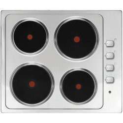 VOGUE Stainless Steel Hotplate Cooktop 600mm