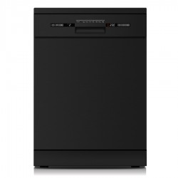 VOGUE Freestanding Dishwasher 14 Place Black