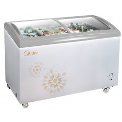 MIDEA Showcase Chest Freezer 254L