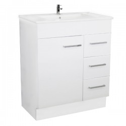 NOVO Floor Vanity 750mm - CLASSIC Ceramic Top
