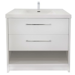 FREMONT Floor Vanity 900mm - OMEGA Stone Resin Top
