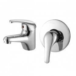 NOVO Eco Basin & Shower Mixer Combo Deal
