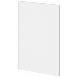 NOVO Kitchen Base End Panel 588mm White Painted