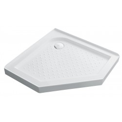VOGUE Corner Angle Shower Tray 1000mm Corner Waste 60mm Low Profile