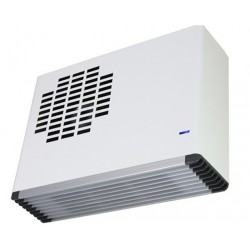 Weiss Wall Mounted Fan Heater White
