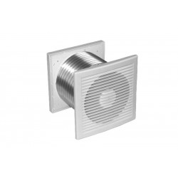 Weiss ClearFlow Through Wall Extractor Fan White