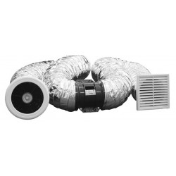 Weiss Inline Extractor Fan 150mm Easy To Install