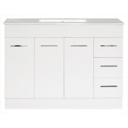 NOVO Floor Vanity 1200mm - CLASSIC Ceramic Top