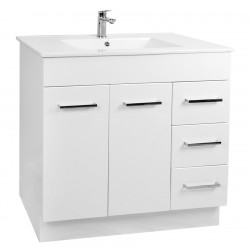 NOVO Floor Vanity 900mm - CLASSIC Ceramic Top