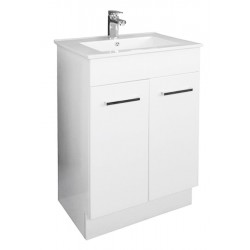 NOVO Floor Vanity 600mm - Classic Ceramic Top