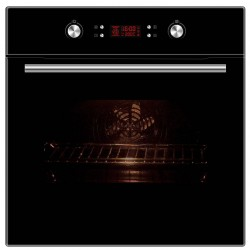 VOGUE Pyrolytic Wall Oven 10 Function 80L Black