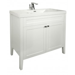RENO Floor Vanity 900mm - OMEGA Stone Resin Top
