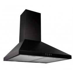 VOGUE Canopy Rangehood 600mm Black