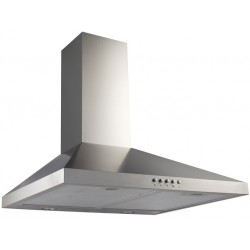 VOGUE Canopy Rangehood 600mm Stainless Steel