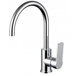 Cora Kitchen Mixer - Chrome - Low Pressure