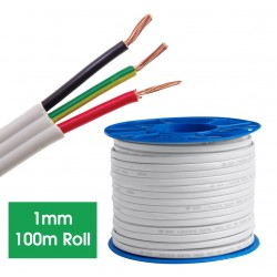 ELECTRICAL TPS CABLE 1mm (Roll-100M)