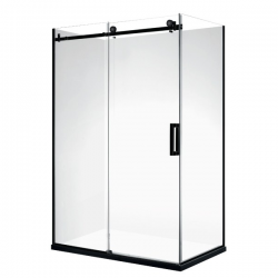 VOGUE Frame-less Rectangle Shower 1200 x 900mm Right Door (left hand) 40mm Profile Tray