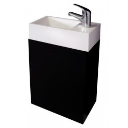 VOGUE Apollo Wall Vanity 400mm Black Gloss