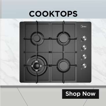 Electric, Induction and Gas Cooktops
