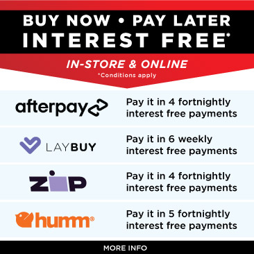 Buy now - pay later - interest free with Afterpay, Laybuy & Zip